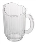 Economy Pitcher Polycarbonate Clear - 60 Oz.