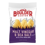 The Inventure Group Boulder Canyon Malt Vinegar and Sea Salt Kettle Chips