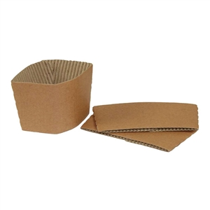 Galli Green Paper Sleeve For Coffee Cup
