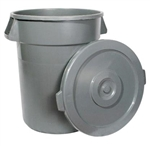 Gray Trash Can - 44 Gal.