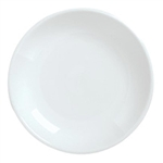 Reflections Aluma White Coupe Plate - 7.38 in.