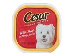 Cesar Canine Cuisine With Beef In Meaty Juices - 3.5 Oz