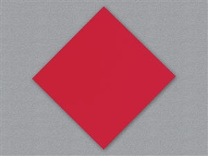 Linen-Like Flat Pack Red Napkin - 16 in. x 16 in.