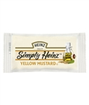 Simply Heinz Yellow Mustard - 5.5 Gram - 500 packs per case