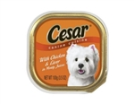 Cesar Canine Cuisine Dog Food Chicken and Liver In Juices - 3.5 Oz.