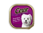 Cesar Canine Cuisine Dog Food Porterhouse Steak In Juices - 3.5 Oz.