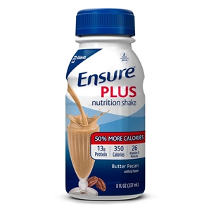 Ensure Plus Butter Pecan Milk Nutrition Shake - 8 Oz.