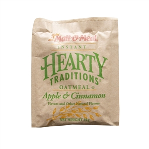 Hearty Traditions Apple and Cinnamon Oatmeal - 1.23 Oz.