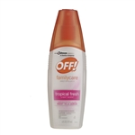 Off Family Care Fresh Spritz Triple - 6 Fl. Oz.