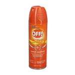 Off Active Insect Repellent Aerosol - 6 Oz.
