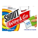 Shout Wipes and Go