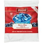 Gelatin Royal Berry Blue - 24 Oz.