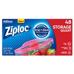 Ziploc Storage Bag Quart