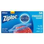 Ziploc Freezer Bag Quart Value Pack