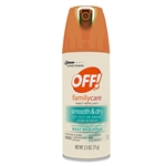 Off Family Care Smooth and Dry Aerosol - 2.5 Oz.