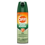 Off Deep Woods Dry Aerosol - 4 Oz.