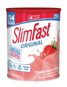 Slim Fast Optima Strawberry Supreme Powder Shake Mix - 12.83 Oz.