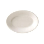 Vista Collection American Rolled Edge Platter White - 9.38 in.