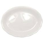 California Sculptured Rim American Platter White - 9.63 in.
