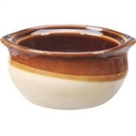 Caramel Onion Soup Crock Brown - 10 Oz.
