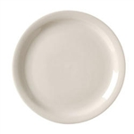 Royal American Narrow Rim Plate White - 9 in.
