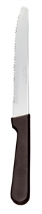 Rounded Tip Plastic Handle Steak knife - 9 in.