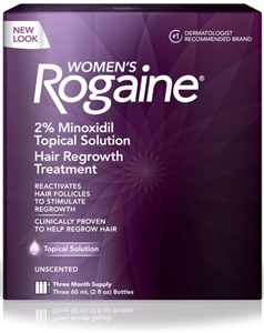 Rogaine Women Hair Regrowth Treatment 3 Month - 6 fl.oz.