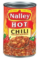 Nalley Chili With Beans Hot - 14 Oz.