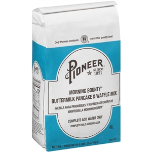 Pioneer Buttermilk Pancake and Waffle Mix - 5 Lb.