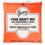 Pioneer Pork Gravy Mix - 11.3 Oz.