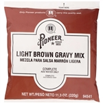 Pioneer Light Brown Gravy Mix - 11.3 Oz.