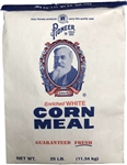 Pioneer White Corn Meal - 25 Lb.