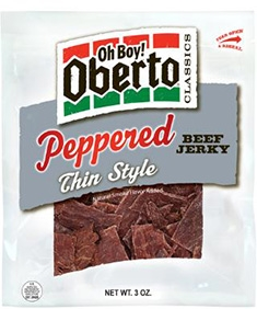 Peppered Thin Style Beef Jerky - 3 Oz.