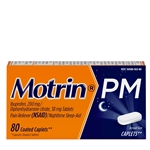 Motrin Pm Caplets 24 Boxes of 80 Tablets