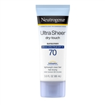 Neutrogena Dry Touch Ultra Sheer Sunblock Spf 70 - 3 Oz.