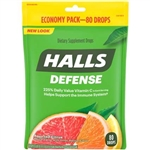 Halls Defense Assorted Citrus Cough Drops