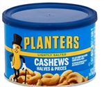 Planters Halves and Pieces Lightly Salted Cashew - 8 oz.