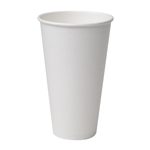 Perfect Touch Insulated Simply White Paper Hot Cup - 16 Oz.
