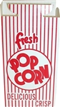 Dixie Automatic Bottom Popcorn Boxes with Hook and Eye Reclose Top Red