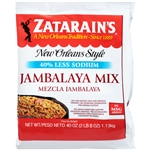 Zatarains Rice Jambalaya Reduced Sodium - 40 Oz.