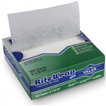 Rite Wrap Dixie Interfolded White Deli Paper - 6 in. x 10.75 in.
