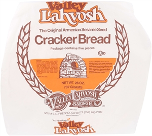Valley Lahvosh Crackerbread Rounds Original - 26 Oz.