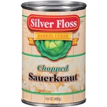 Silver Floss Chopped Sauerkraut - 14 Oz.