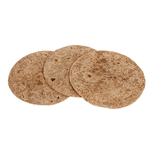 Tortilla Heat Pressed Whole Wheat - 6 in.