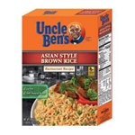 Uncle Bens Asian Style Brown Rice - 26.49 Oz.