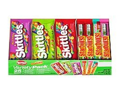 Starburst and Skittles Assorted Variety Box - 51.55 Oz.