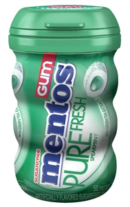 Mentos Pure Fresh Gum Spearmint