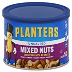 Planters Unsalted Mixed Nut - 10.3 Oz.