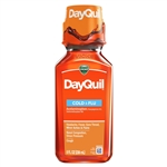 Vicks Dayquil Liquid - 8 Oz.