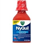 Vicks Nyquil Cherry Liquid - 8 Oz.